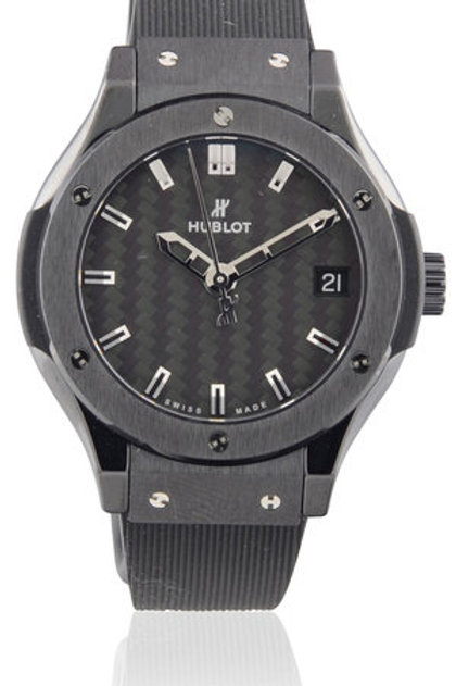 HUBLOT CLASSIC FUSION BLACK MAGIC QUARTZ