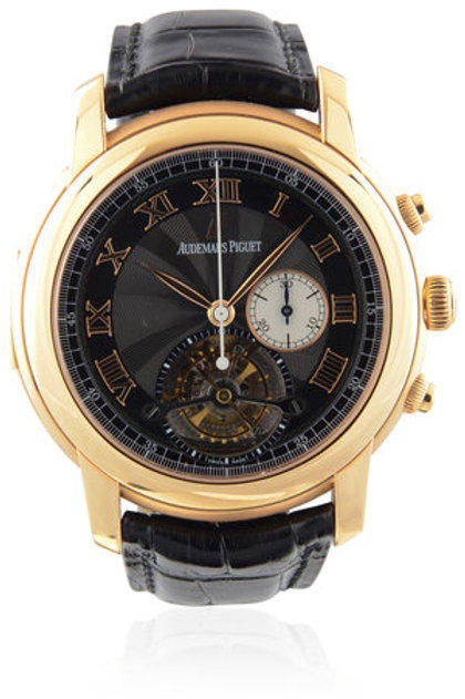 AUDEMARS PIGUET JULES AUDEMARS ROSE GOLD MINUTE REPEATER TOURBILLON CHRONOGRAPH