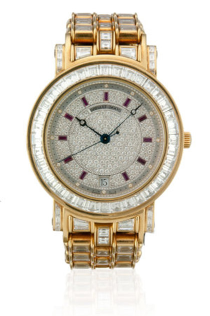 BREGUET MARINE YELLOW GOLD WITH DIAMONDS