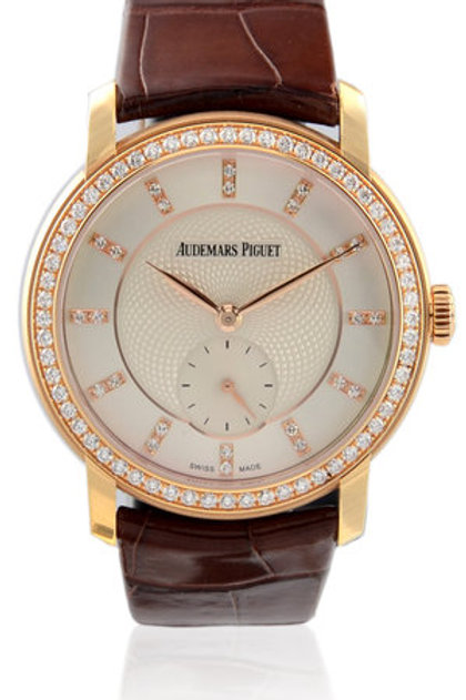 AUDEMARS PIGUET JULES AUDEMARS LADIES ROSE GOLD WITH DIAMONDS