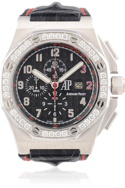 AUDEMARS PIGUET ROYAL OAK SHAQUILLE O'NEAL WHITE GOLD