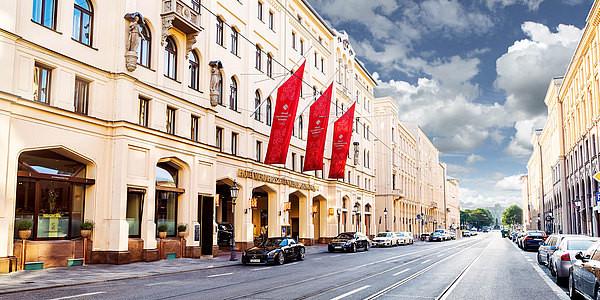 """THE """"HOTEL VIER JAHRESZEITEN"""" IN KEMPINSKI MÜNCHEN, GERMANY"""