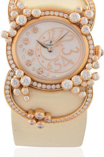 AUDEMARS PIGUET LADIES MILLENARY PRECIEUSE PINK GOLD WITH DIAMONDS