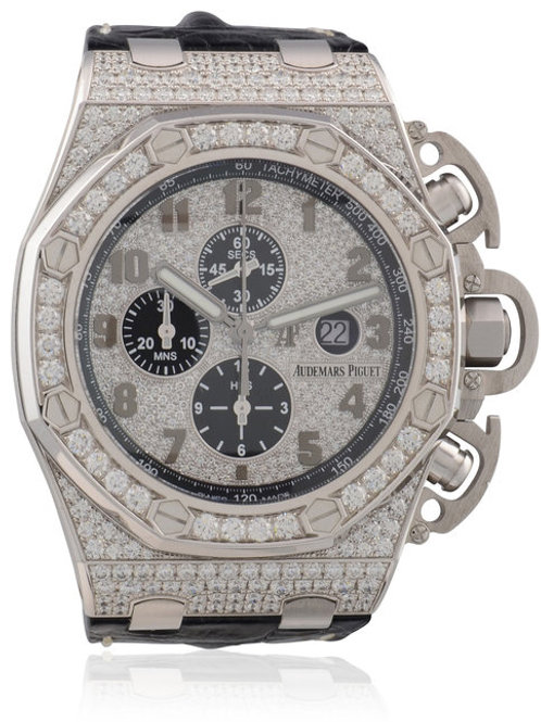 AUDEMARS PIGUET ROYAL OAK OFFSHORE CHRONOGRAPH 48mm DIAMOND SET