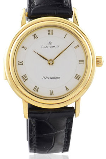 BLANCPAIN LADIES YELLOW GOLD MINUTE REPEATER