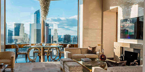 """THE """"TY WARNER PENTHOUSE"""" AT THE FOUR SEASONS IN NEW YORK CITY"""