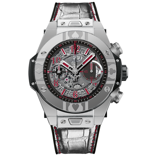 HUBLOT BIG BANG UNICO WORLD POKER TOUR IN STEEL