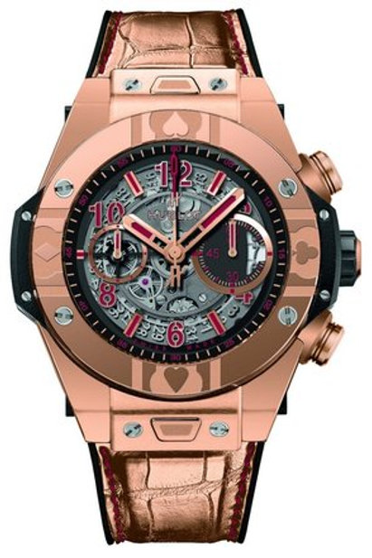 HUBLOT BIG BANG UNICO WORLD POKER TOUR IN ROSE GOLD