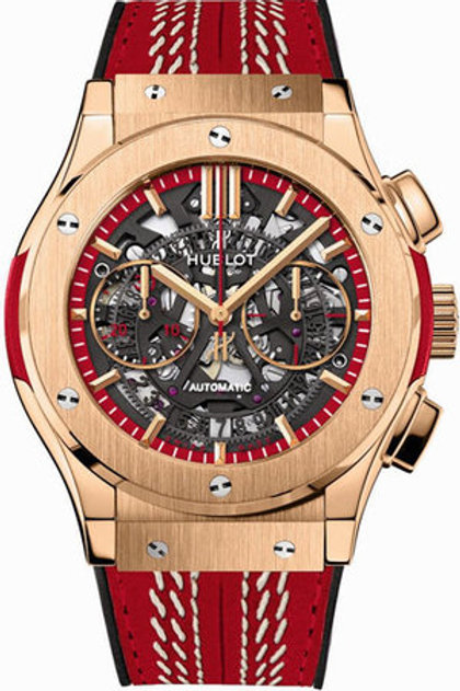 HUBLOT CLASSIC FUSION AEROFUSION WORLD CRICKET CUP IN ROSE GOLD