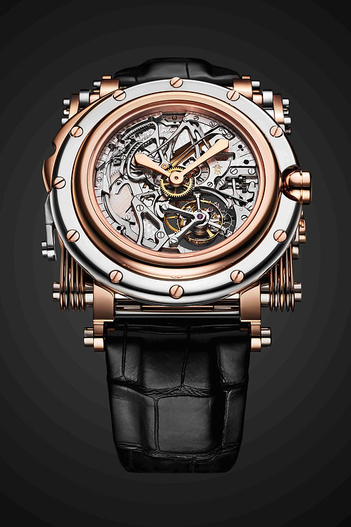 Manufacture Royale Opera Rose Gold & White Gold Ref: OP50.0805P