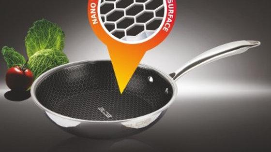 Alda Nero Triply Stainless Steel Non Stick Fry Pan 20cm