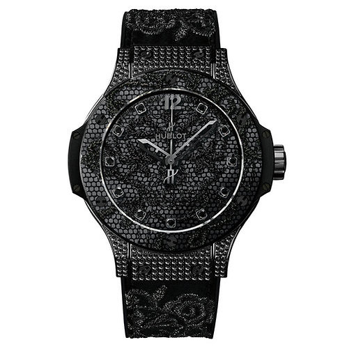 HUBLOT BIG BANG BRODERIE IN BLACK