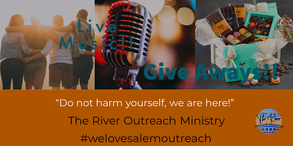 """Outreach - """"Do not harm yourself, we are here"""""""