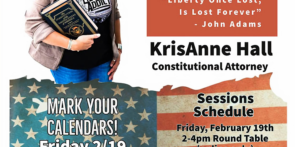 Let Freedom Ring - KrisAnne Hall, Constitutional Attorney