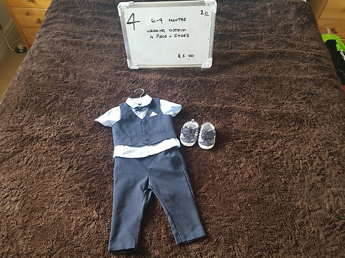 Boys Wedding Outfit 6-9months