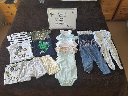 Boys Bundle 9 - 12 Months