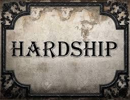 Hardship fee