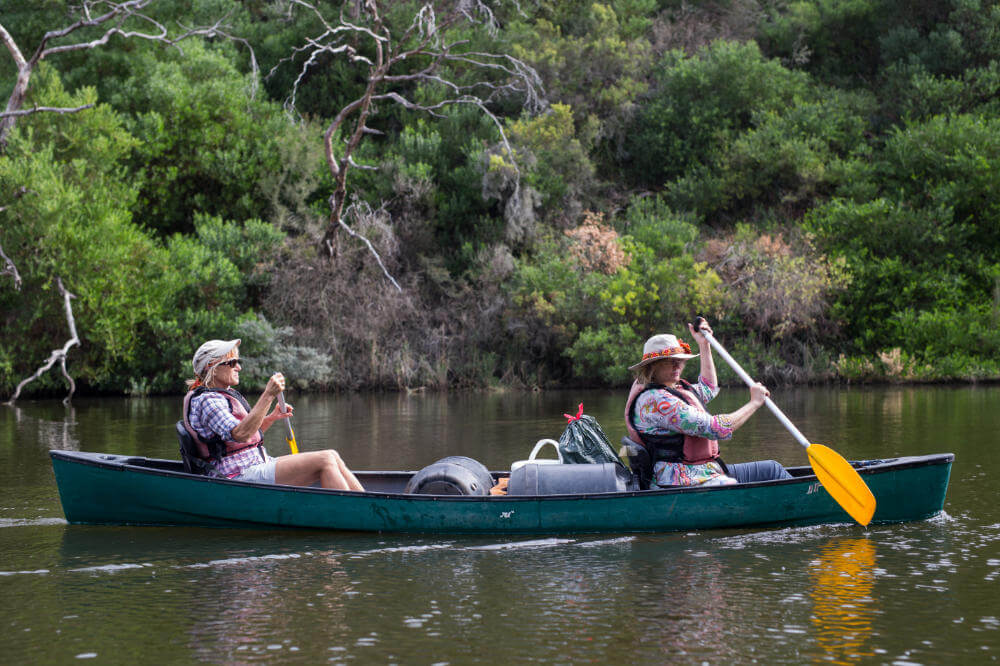 Women of Wander on the Glenelg River