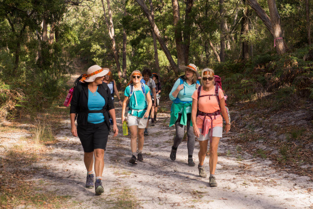 Women of Wander hiking the Glenelg