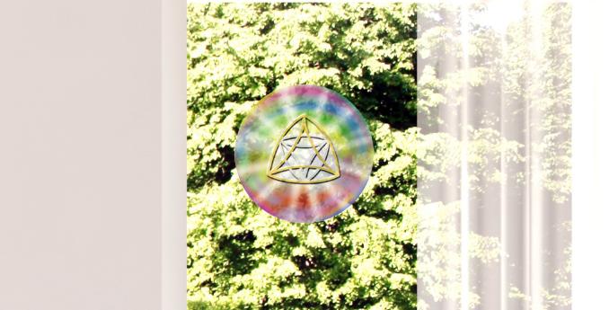 Fenster & Glas Bild wahre Liebe