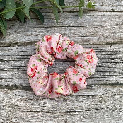 Sweet Roses Hair Scrunchie