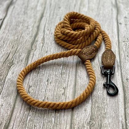 Rope Lead in Tan