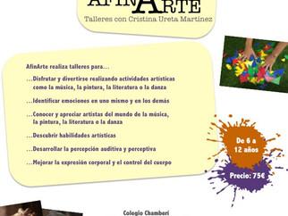 TALLERES ARTÍSTICOS PARA NIÑOS EN JUNIO