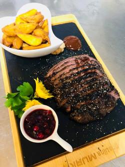 Cheff-ov flam steak