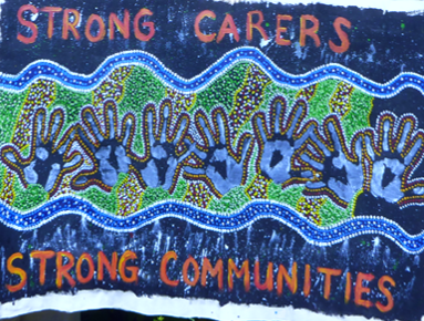 Improved wellbeing, a research project supporting unpaid carers. Strong Carers Strong Communities.