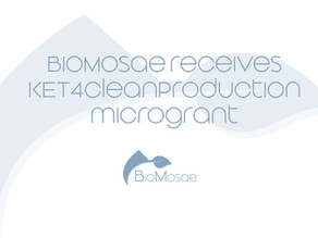 Biomosae receives KET4CleanProduction microgrant