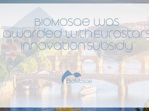 Consortiumledby BioMosae was awarded with Eurostars Innovation subsidy