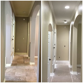 Hallway Before and After.JPG