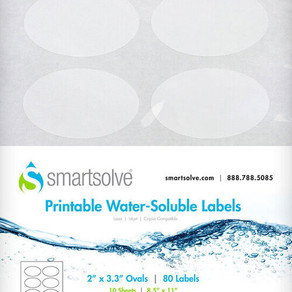 5 PRACTICAL USES FOR WATER SOLUBLE LABELS