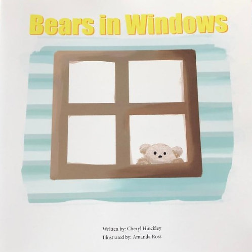 Bears In Windows - Softcover Book SALE