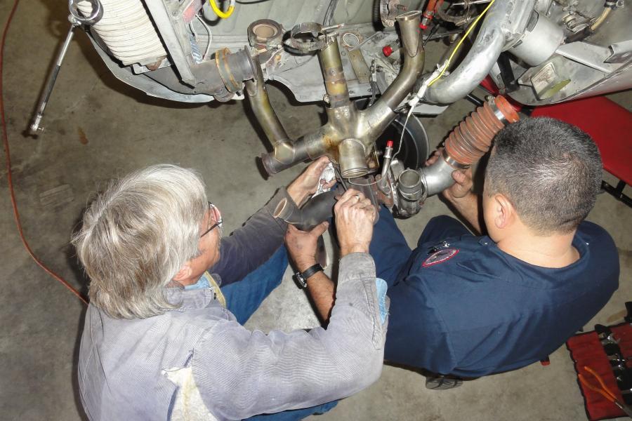 N182WD Engine Change
