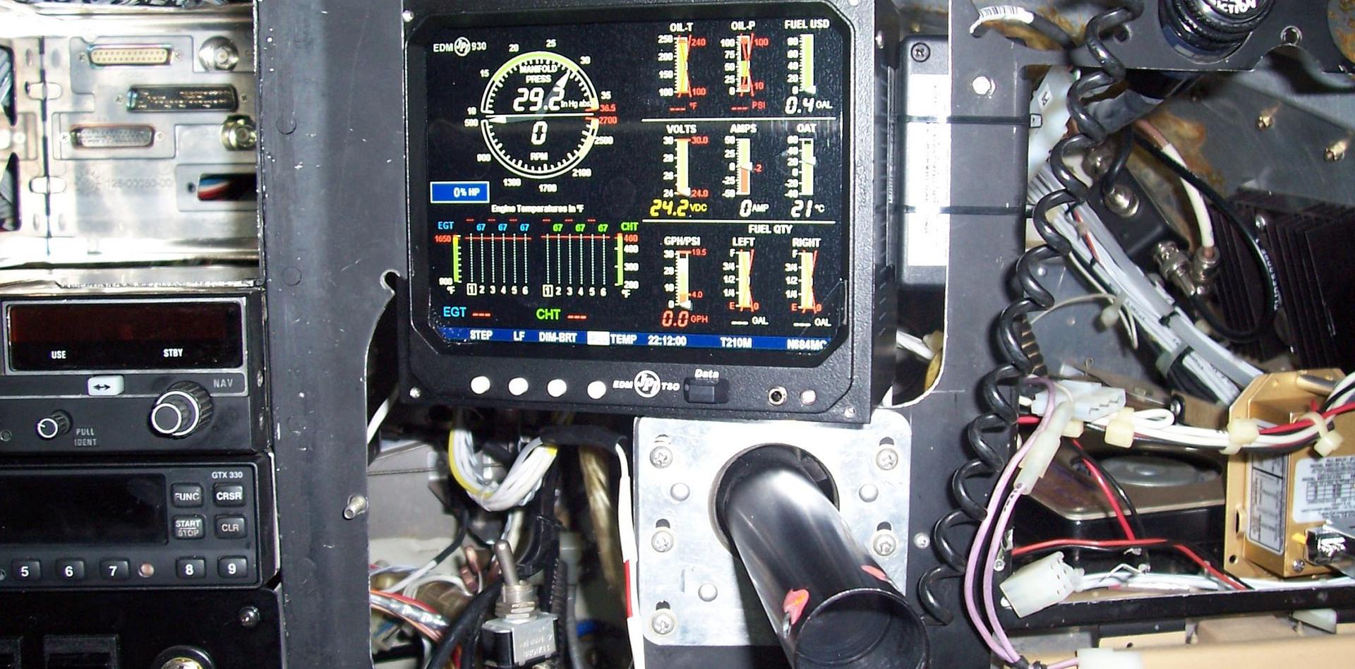 JPI EDM-930 Cessna T210N