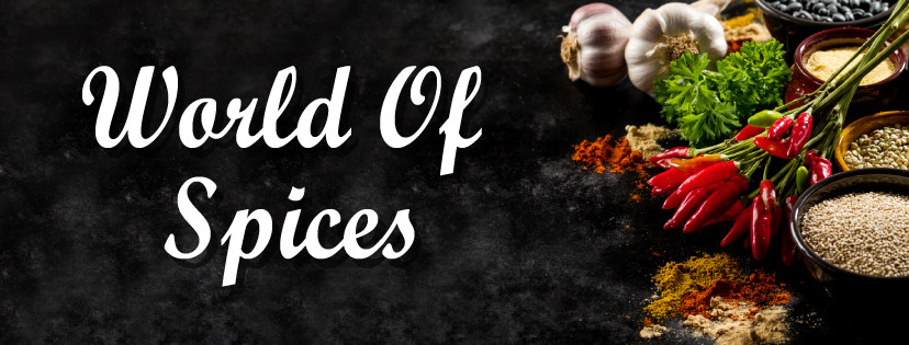 World Of Spices - Facebook Cover Banner.