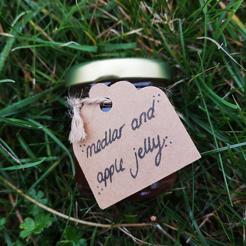 Medlar and Apple Jelly Mini Jar