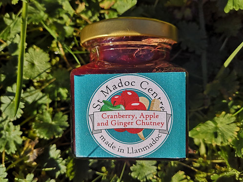 Cranberry, Apple and Ginger Chutney