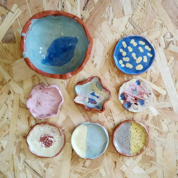 Peças cerâmicas