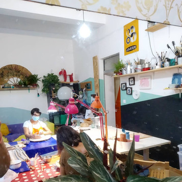 Aula de Cerâmica para adultos