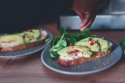 Avocado toast Veggie
