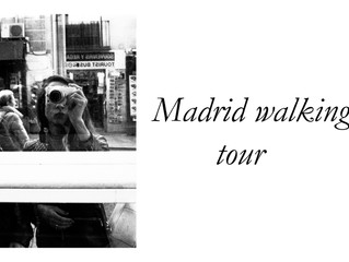 Madrid walking tour!
