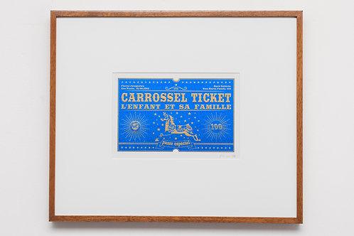 Ticket Azul