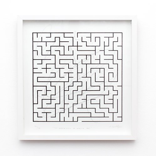 Labyrinths of making art