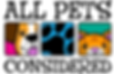 All Pets Considered Logo 2013 png Offici