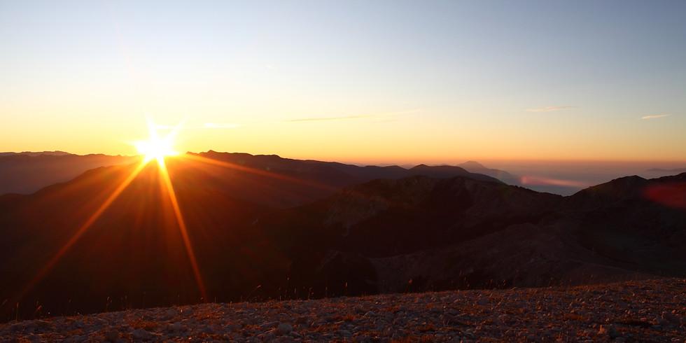 Monti Ernici occidentali - Dal Tramonto all'alba