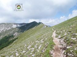 Sentiero cresta Pizzo Passeggio