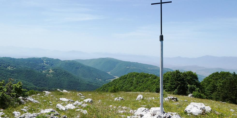 Escursione guidata al monte Peccia