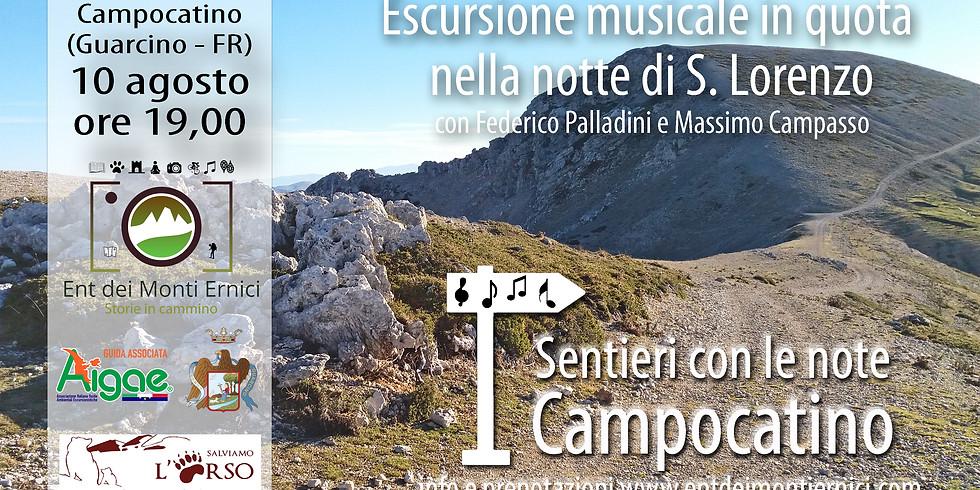 Sentieri con le note nella notte di S. Lorenzo - Campocatino